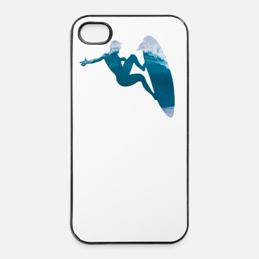 Was Mavericks - Riding the big One - Surfer Sport - Coque rigide iPhone 4/4s