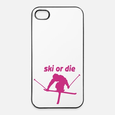 Freestyle ski or die v - iPhone 4/4s hard case