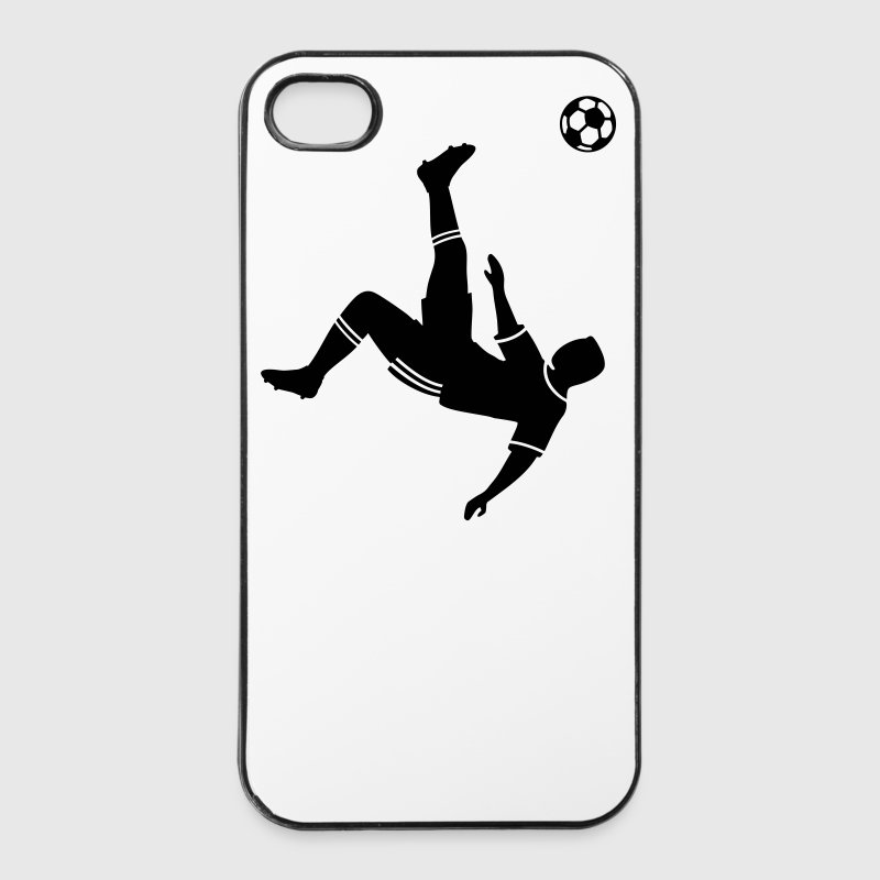 footballeur football foot - Coque rigide iPhone 4/4s