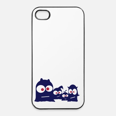 Monstre monster family - Coque rigide iPhone 4/4s