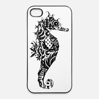 Fantaisie Un hippocampe fantaisie - Coque rigide iPhone 4/4s