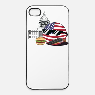 Country UnitedStatesBall - iPhone 4/4s hard case
