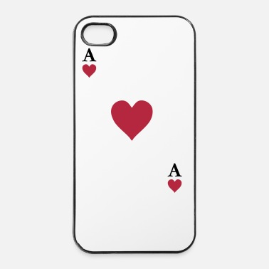 Cards As de coeur - Coque rigide iPhone 4/4s