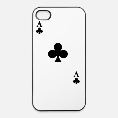 Cards As de Trefle - Coque rigide iPhone 4/4s