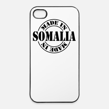 Stämpel made in somalia m1k2 - Hårt iPhone 4/4s-skal