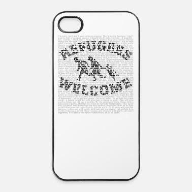 Soul Refugees Welcome - iPhone 4 & 4s Hülle