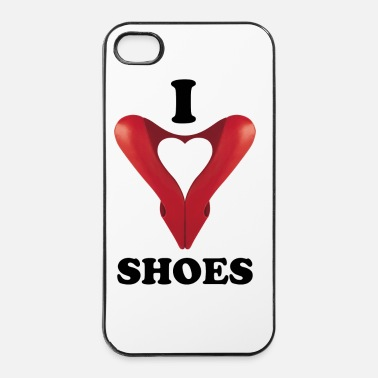 I Love I love Shoes - Coque rigide iPhone 4/4s