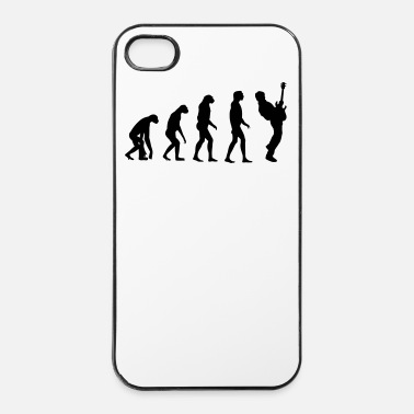 Darwin bass player evolution - Coque rigide iPhone 4/4s