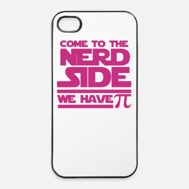 Pi Come to the Nerd Side - iPhone 4/4s hard case