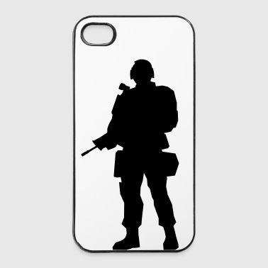 soldier - iPhone 4/4s hard case