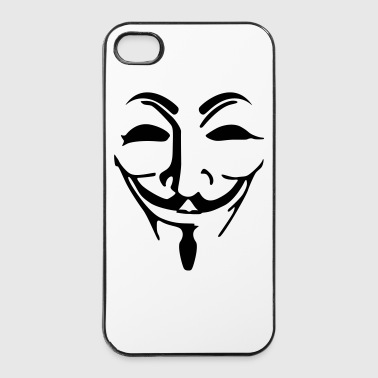 Anonymous masker - iPhone 4/4s hard case