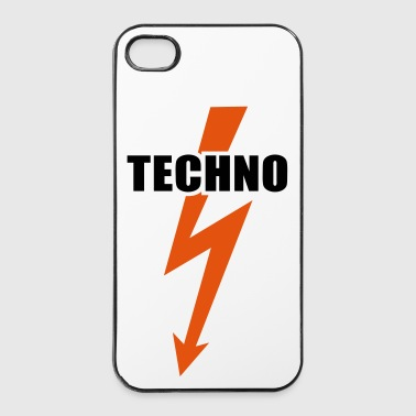 Techno Musique Techno - Coque rigide iPhone 4/4s