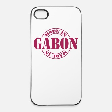 Afrika made in gabon m1k2 - iPhone 4/4s hard case