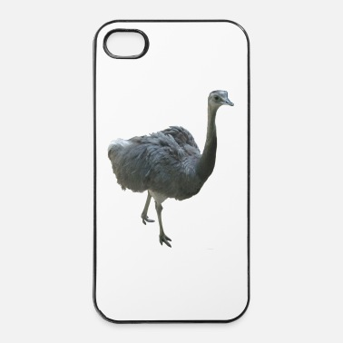 Bec autruche - Coque rigide iPhone 4/4s
