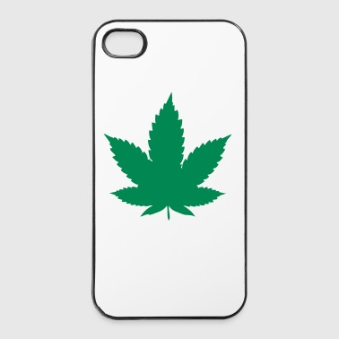 cannabis leaf - Coque rigide iPhone 4/4s
