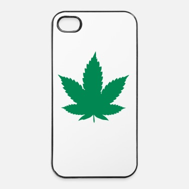 Leaf cannabis leaf - Coque rigide iPhone 4/4s