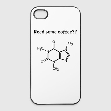 need_some_coffee - Custodia rigida per iPhone 4/4s