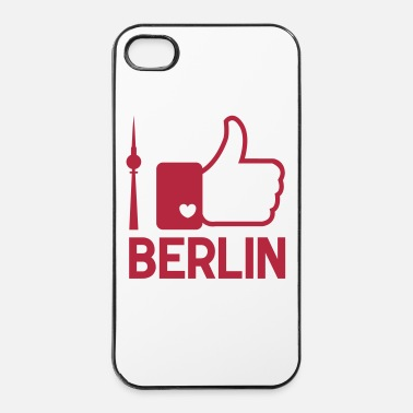 Allemagne I like Berlin - Coque rigide iPhone 4/4s