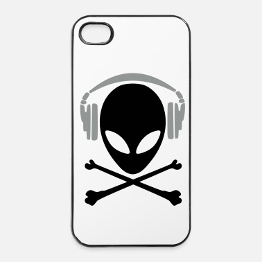 Dj alien 6 dj pirate - Coque rigide iPhone 4/4s
