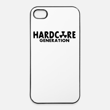 Radioactif harcore generation / hard core generation - Coque rigide iPhone 4/4s