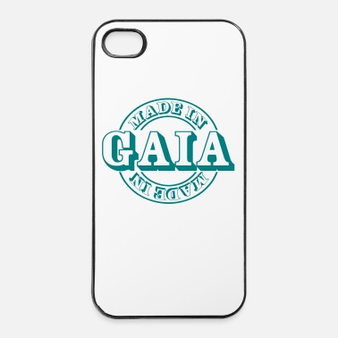 Environnement made in gaia m1k2 - Coque rigide iPhone 4/4s