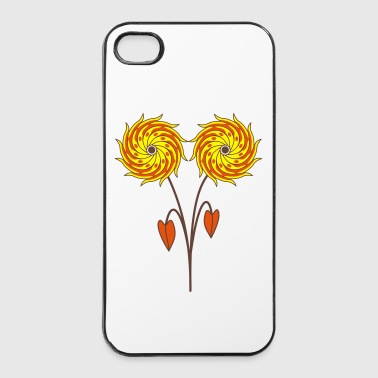 Paare Hypnoflower - Paar - iPhone 4/4s Hard Case