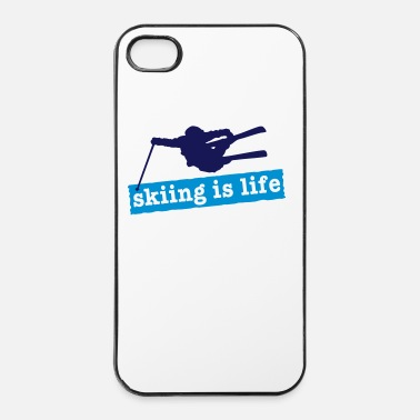 Freestyle skiing is life i 2c - Coque rigide iPhone 4/4s
