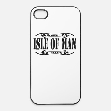 Homme made in isle of man - Coque rigide iPhone 4/4s