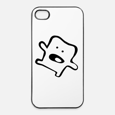 Icon Funny Monster! - Custodia rigida per iPhone 4/4s