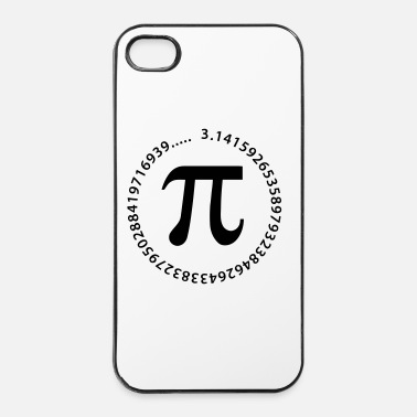 Nombre pi_rond - Coque rigide iPhone 4/4s