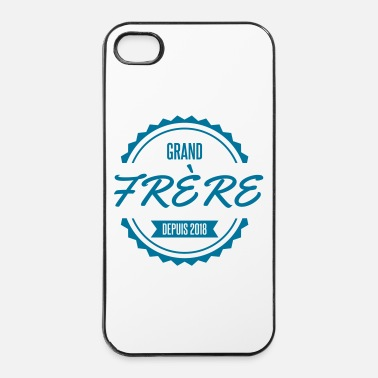 Big grand frere depuis 2018 big bro - Coque rigide iPhone 4/4s