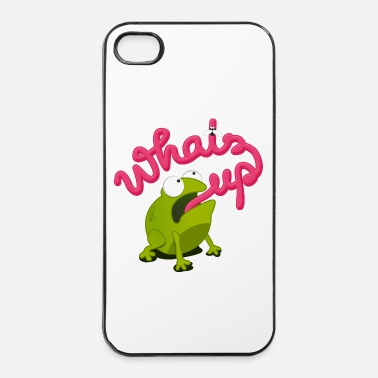 Up whats up frog - iPhone 4/4s hard case