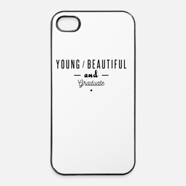 Humor young beautiful graduate - Carcasa iPhone 4/4s