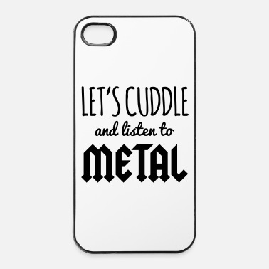 Metal Cuddle Listen To Metal  - iPhone 4/4s kovakotelo