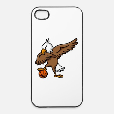 Nazionale Dabbing dab American Eagle basketball - Custodia rigida per iPhone 4/4s