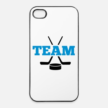 Hockey Hockey su ghiaccio - Custodia rigida per iPhone 4/4s