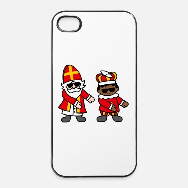 Presentera Sinterklaas Zwarte Piet Floss Dance Flossing Sint - Hårt iPhone 4/4s-skal