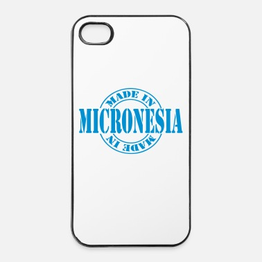 Tampon made in micronesia m1k2 - Coque rigide iPhone 4/4s
