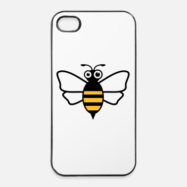 Fiore Ape - Custodia rigida per iPhone 4/4s