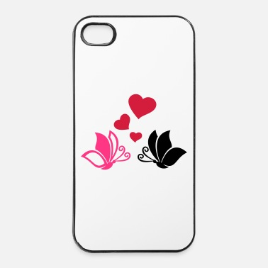 Fiançailles Papillon - Coque rigide iPhone 4/4s
