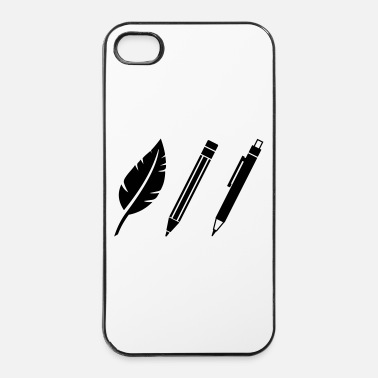 Écriture Artiste - Coque rigide iPhone 4/4s