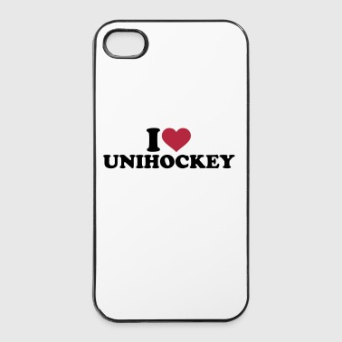I love Unihockey - iPhone 4/4s Hard Case