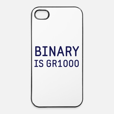 Joke Binary is Great (GR8) Maths Joke - iPhone 4 & 4s Case