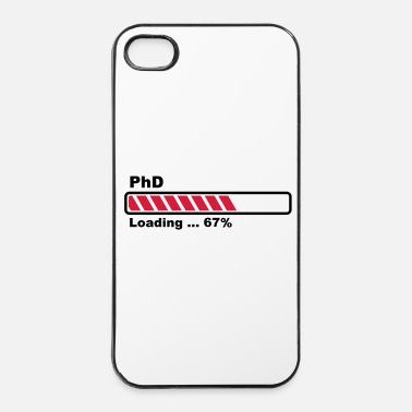 Bar PhD loading - iPhone 4/4s hard case
