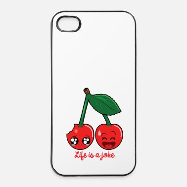 Philosophie Life is a joke - Coque rigide iPhone 4/4s