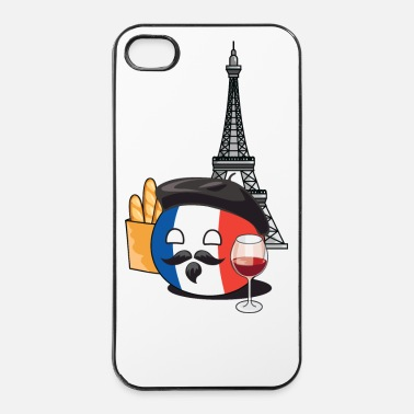 Country FranceBall - iPhone 4/4s hard case