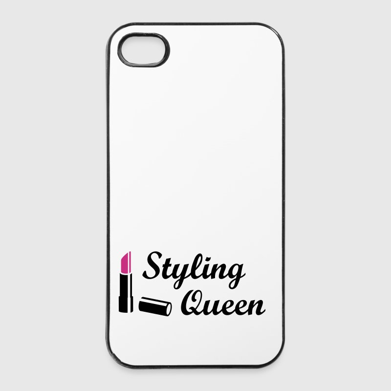 Styling Queen Style Mode Lippenstift   - iPhone 4/4s Hard Case