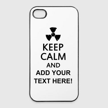 keep calm and radioactive - iPhone 4/4s hard case
