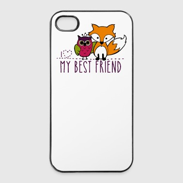 Beste Freunde - iPhone 4/4s Hard Case