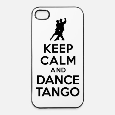 Danseuse Keep calm and dance Tango - Coque rigide iPhone 4/4s